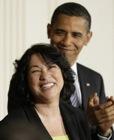 Sotomayor Obama